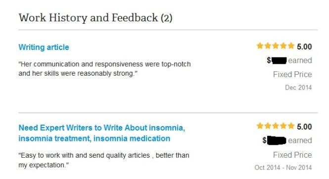 feedback 2 odesk